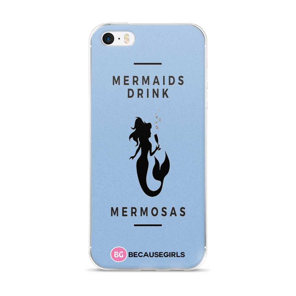 Mermaids Drinks Mermosas iPhone Case