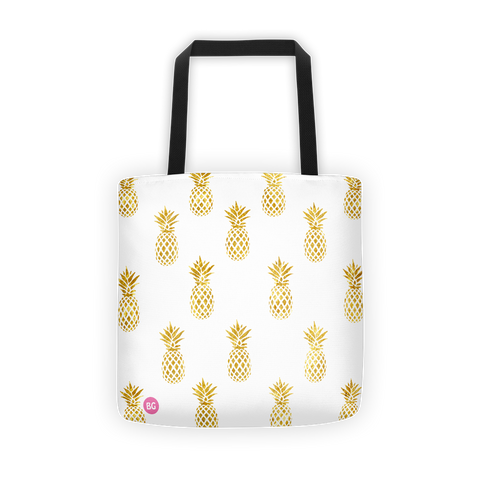 Pineapple Party Tote