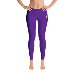 Purple BG Leggings