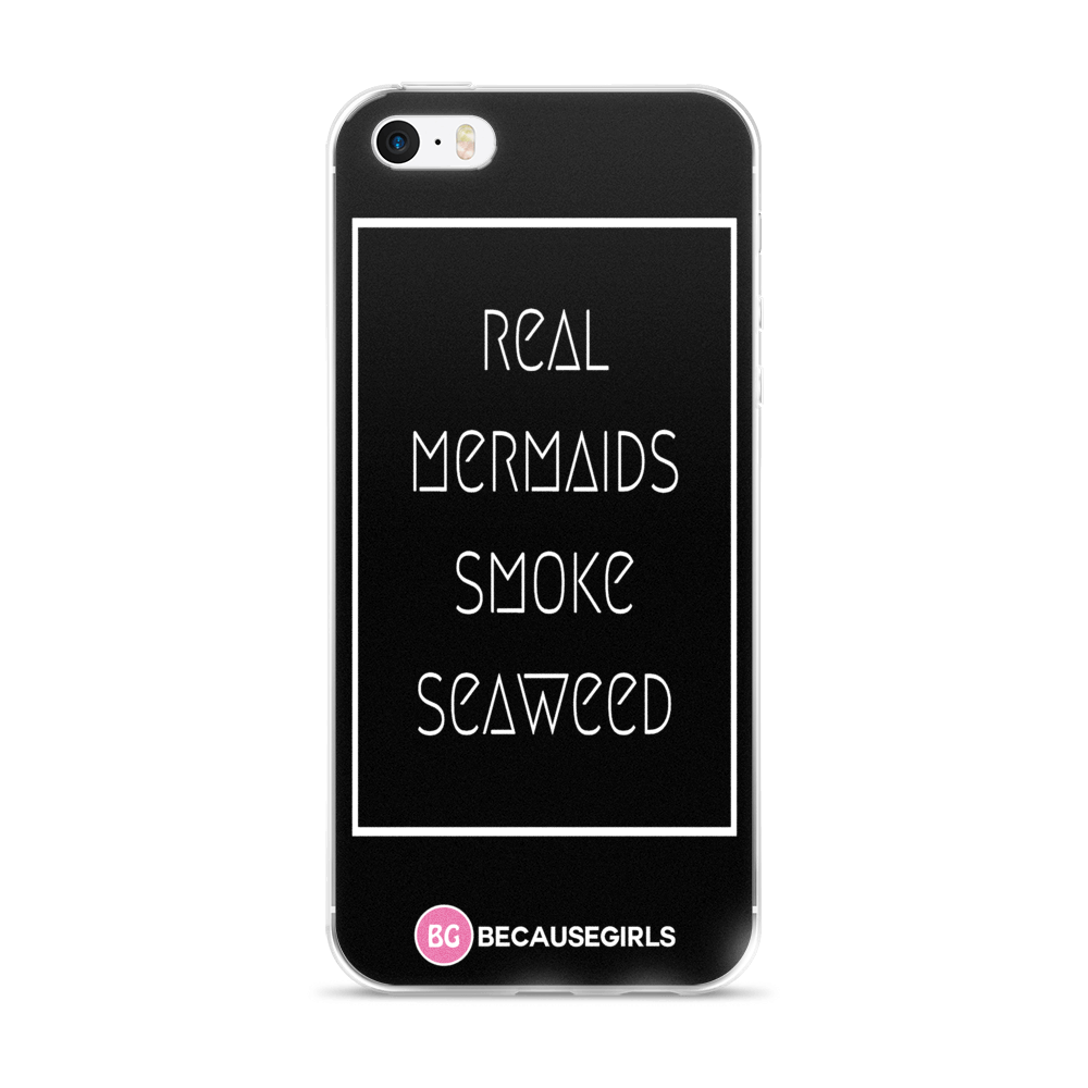 Real Mermaids Smoke Seaweed iPhone Case
