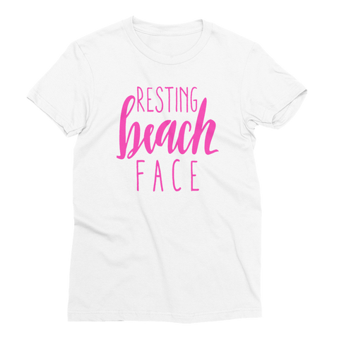 Resting Beach Face Girls T-Shirt