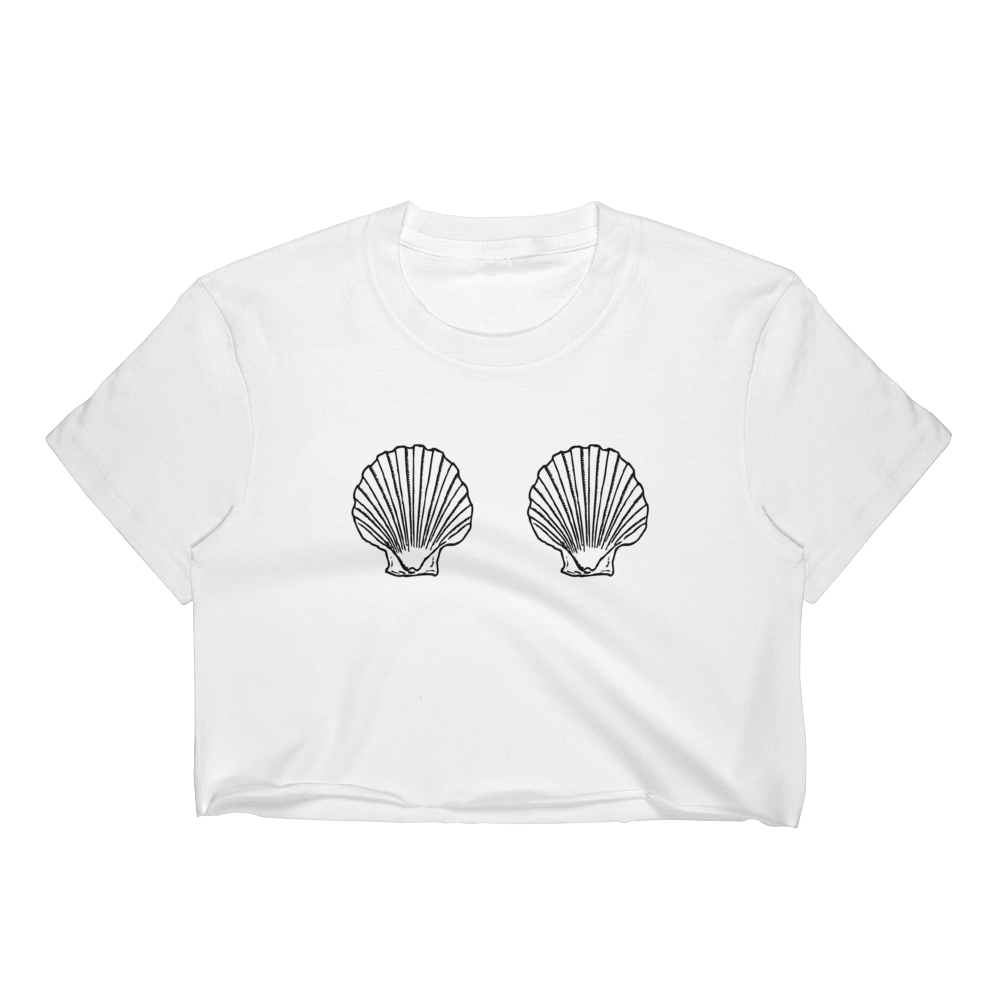 Seashells Crop Top