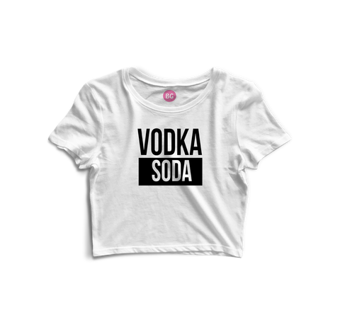 VodkaSoda Crop Top