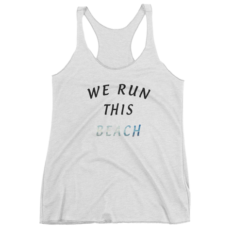 We Run This Beach Girls Tank