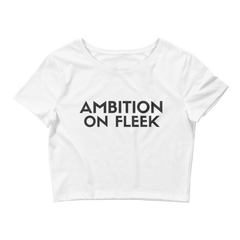 Ambition On Fleek Croptop