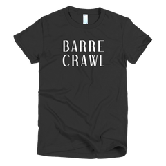 BarreCrawl Girls T-Shirt