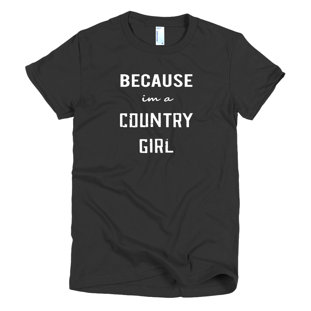 BecauseCowGirls Girls T-Shirt