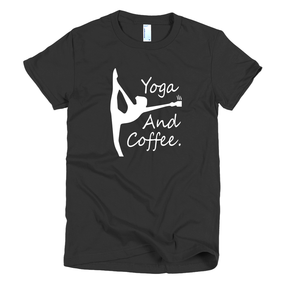 BecauseYoga&Coffee Girls T-Shirt