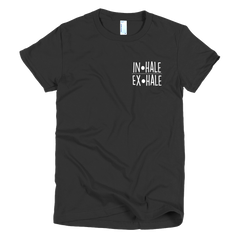Inhale-Exhale Girls T-Shirt