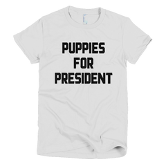 PuppiesForPresident Girls T-Shirt