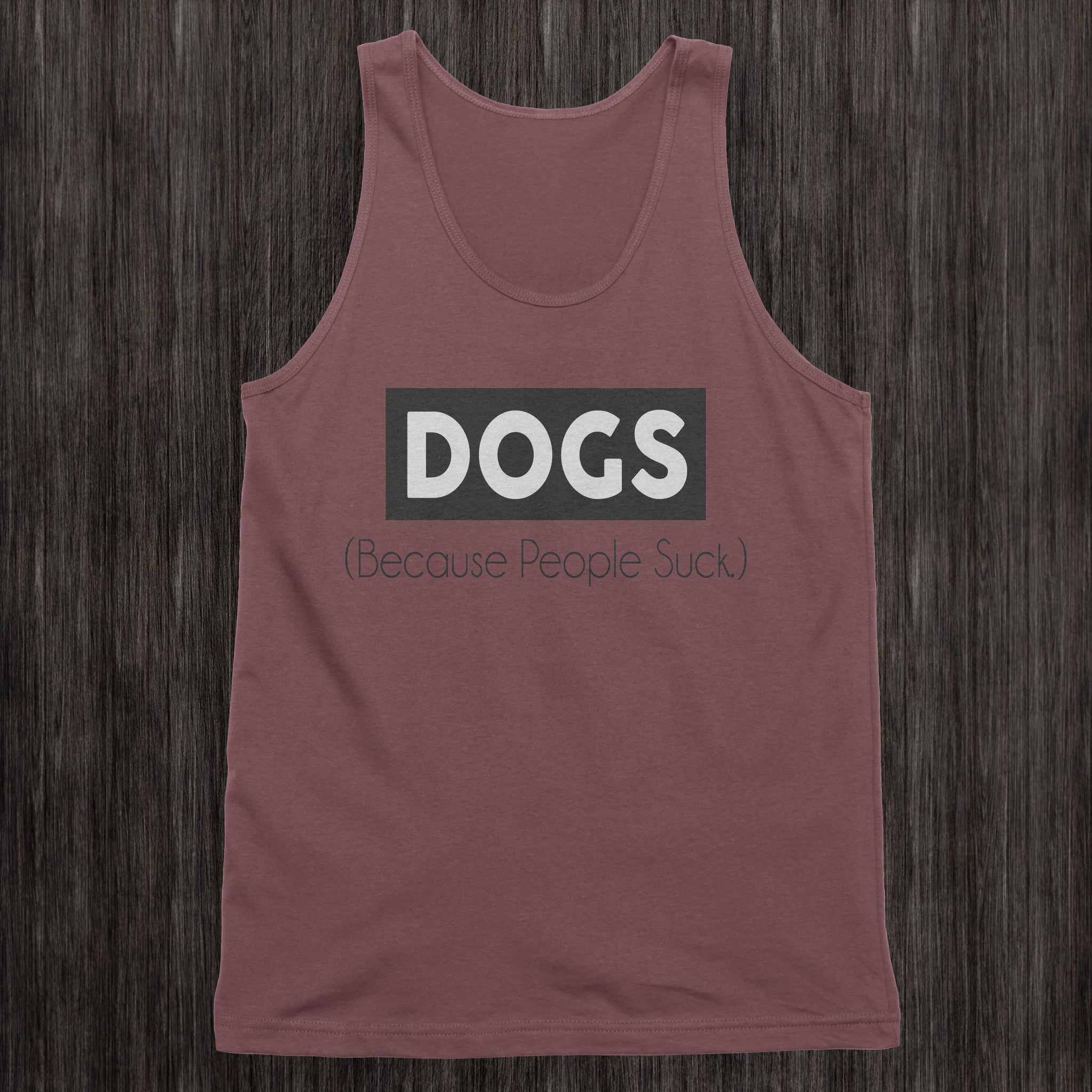 BecauseDogs Mens Tank