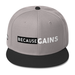 BecauseGains SnapBack Hat