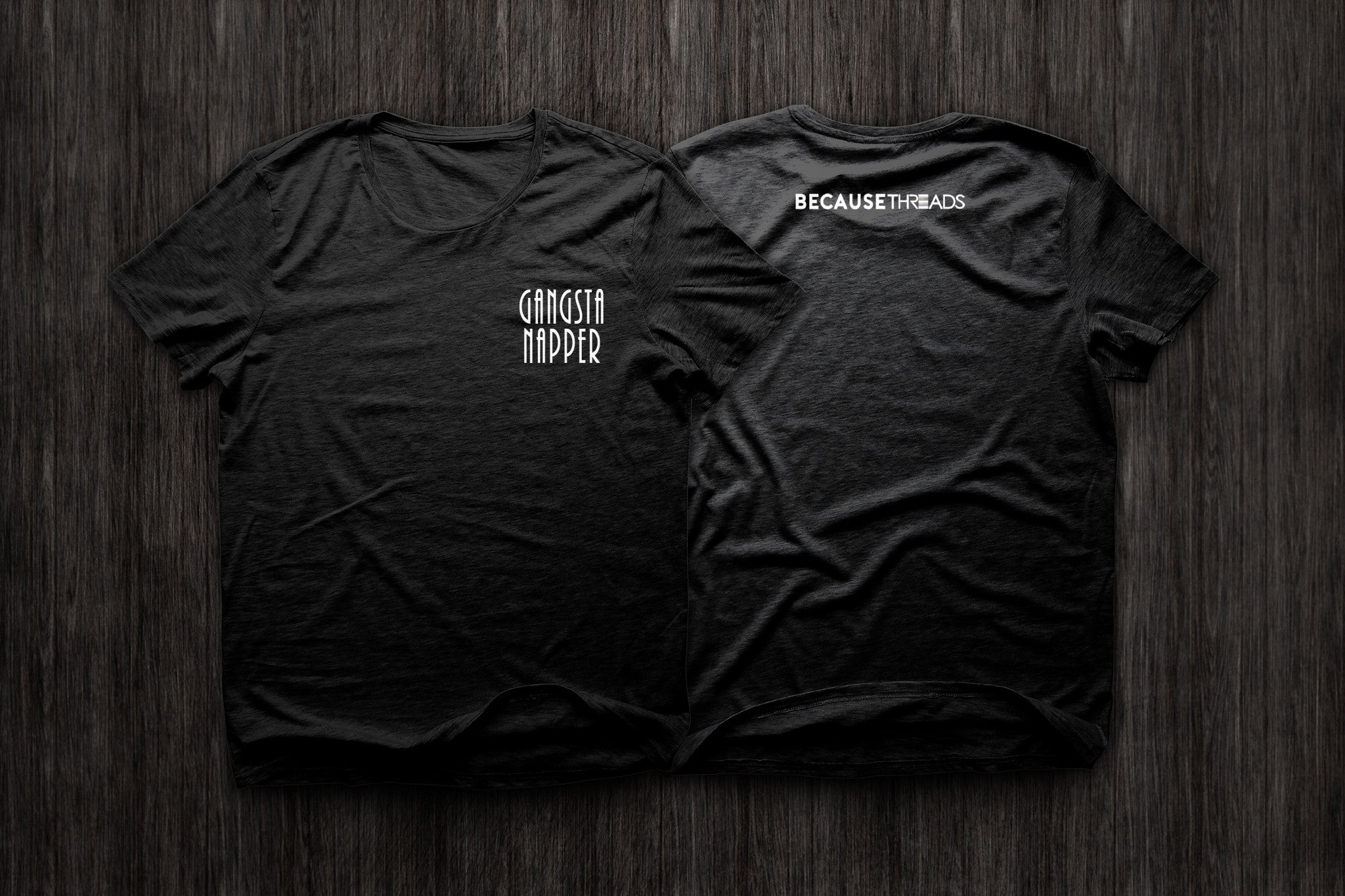 GangstaNapper Black T-Shirt