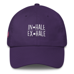 Inhale - Exhale Dad Hat