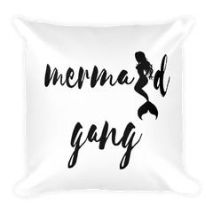 Mermaid Gang Square Pillow