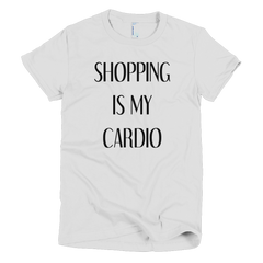 Shopping Is My Cardio Girls T-Shirt