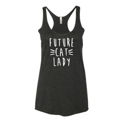 FutureCatLady Girls Tank