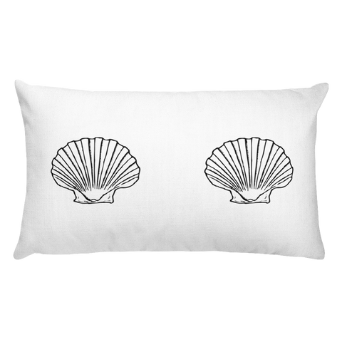 Seashell Long Pillow