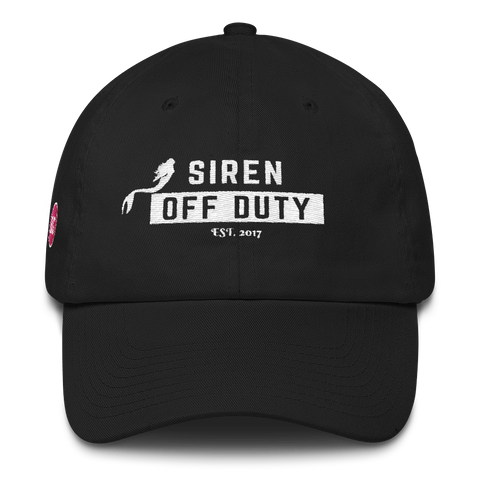 Siren Off Duty Dad Hat (BG on the side)