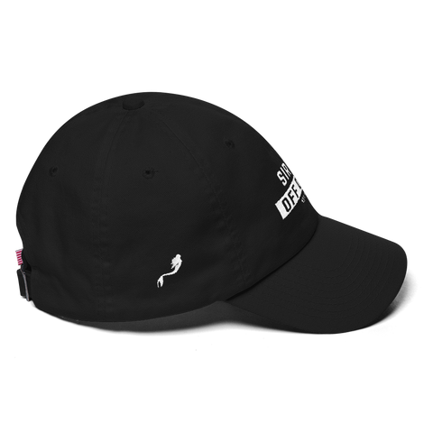 Siren Off Duty Dad Hat (Mermaid on the side)