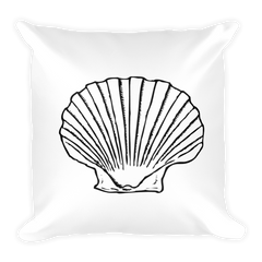 Seashell Square Pillow