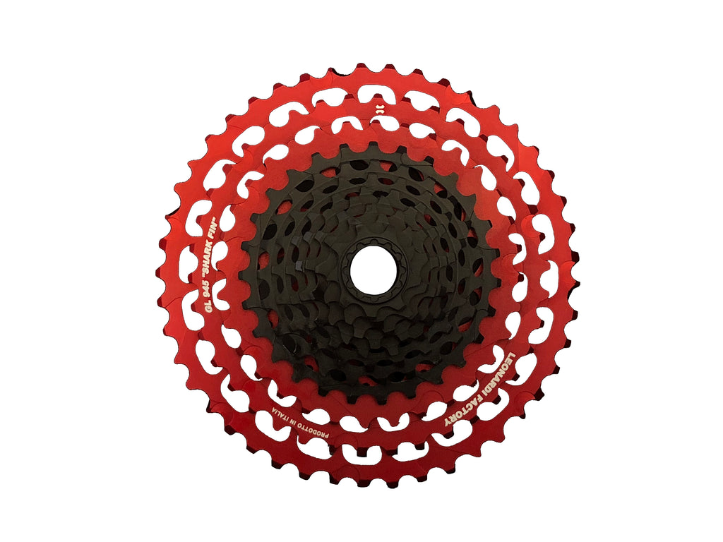 GENERAL LEE CASSETTE - 12S 9.48 XD -  HOT RED