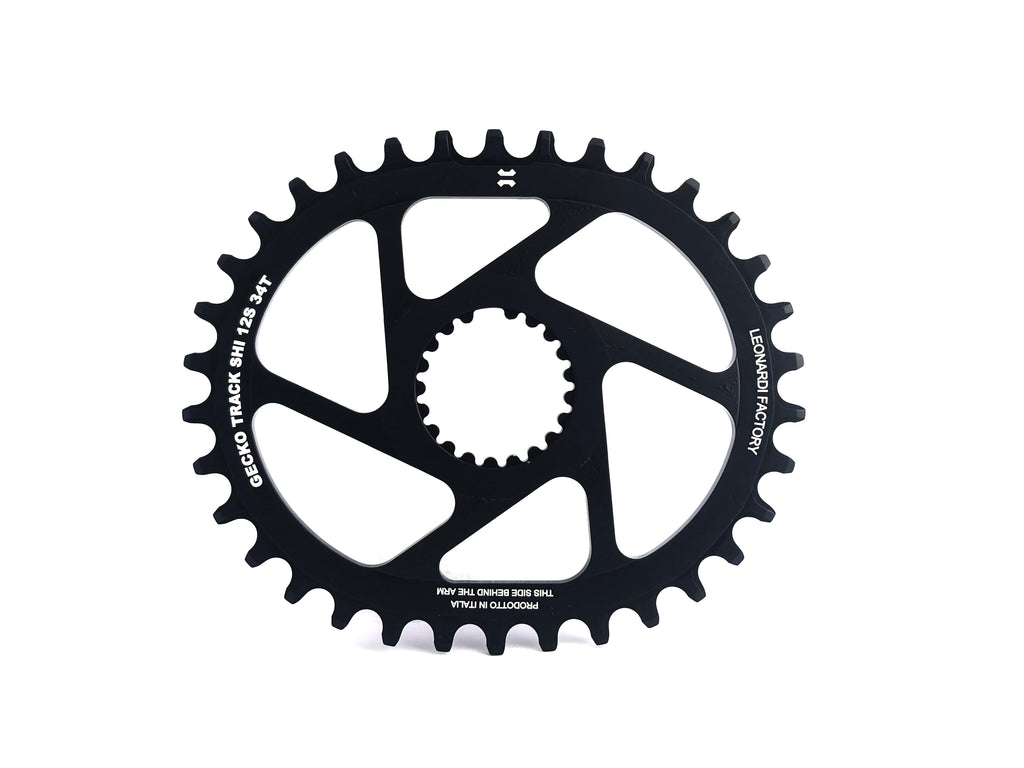 SHIMANO® GECKO TRACK CHAINRING 12 SPEEDS  M9100, M8100, M7100