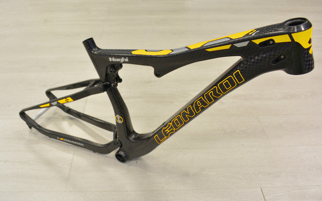 NAGHI Leonardi Double suspension carbon frame yellow