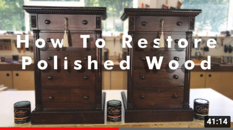 how to restore polished wood video