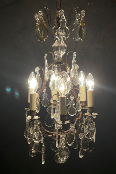 Antique French Chandelier - 'Madeleine'