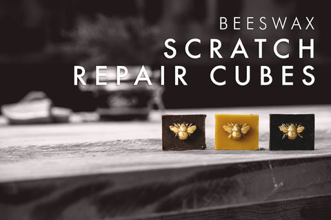 beeswax scratch repair cubes