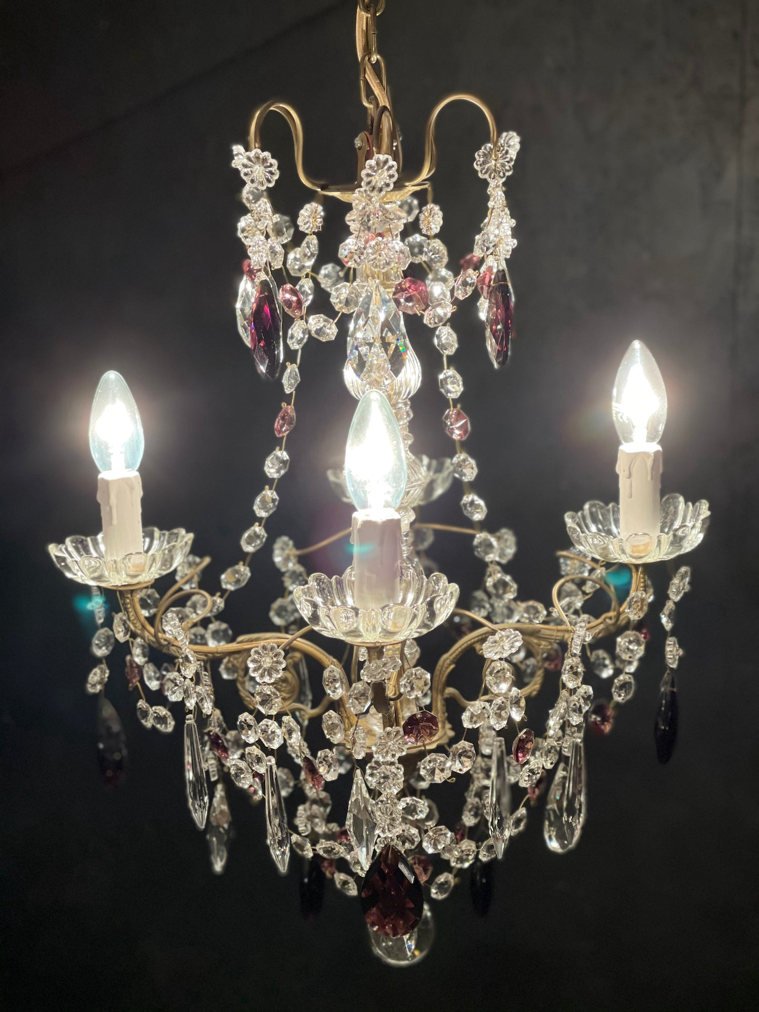 Vintage French Chandelier - Sophie