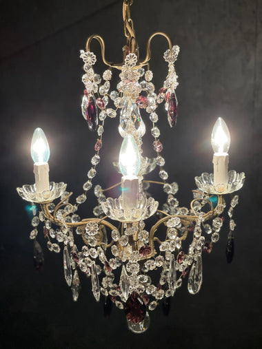 Vintage Style French Chandelier - 'Sophie'