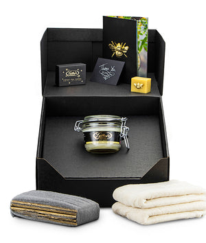 Gilboys beeswax wood polishing kit - pure gold