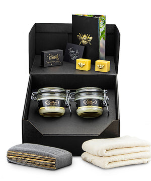 Gilboys pure gold beeswax furniture and wood polishing kit (twin pack)
