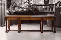 Solid Oak Serving Table (King George VI 1951)