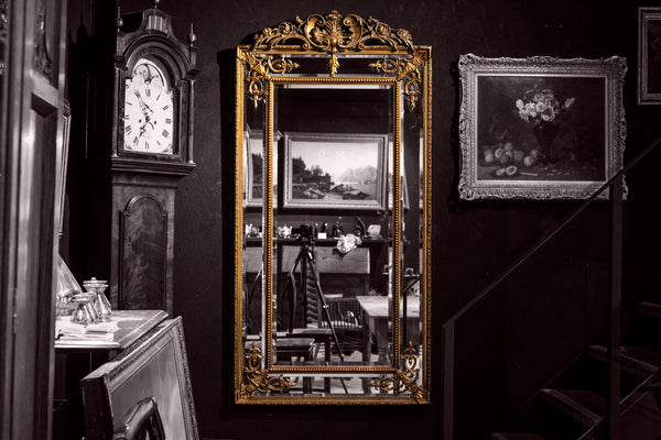 6ft Florentine Style Wall Mirror