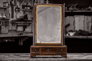 18th C. Toilet Mirror