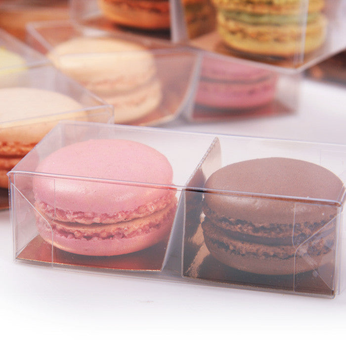 2 Macarons de Paris in transparant doosje