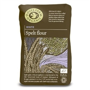 Grocemania Grocery Delivery London| Doves Farm White Spelt Flour 1000g