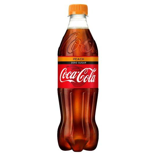 Grocemania Grocery Delivery London| Coca-Cola Zero Peach 500ml