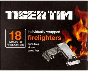 Grocemania Grocery Delivery London| Tiger Tim Fire Lighters x18