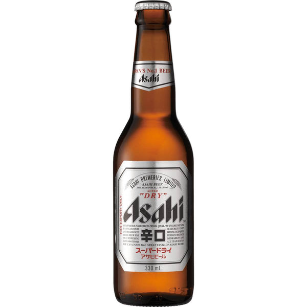 Grocery Delivery London - Asahi Beer 330ml same day delivery