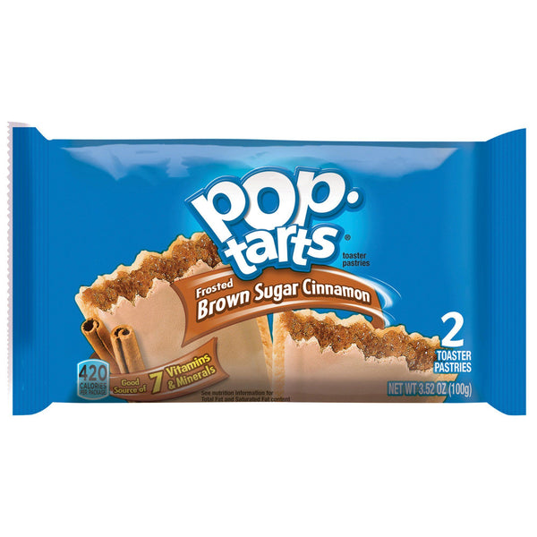 Grocemania Grocery Delivery London| Pop Tarts Sugar Cinnamon 100g