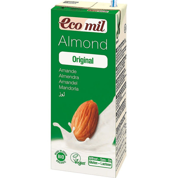 Grocemania Grocery Delivery London| Ecomil Organic Almond Drink 200ml