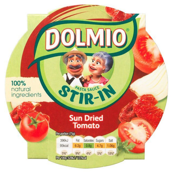 Grocemania Grocery Delivery London| Dolmio Stir In Sun Dried Tomato Pasta Sauce 150g