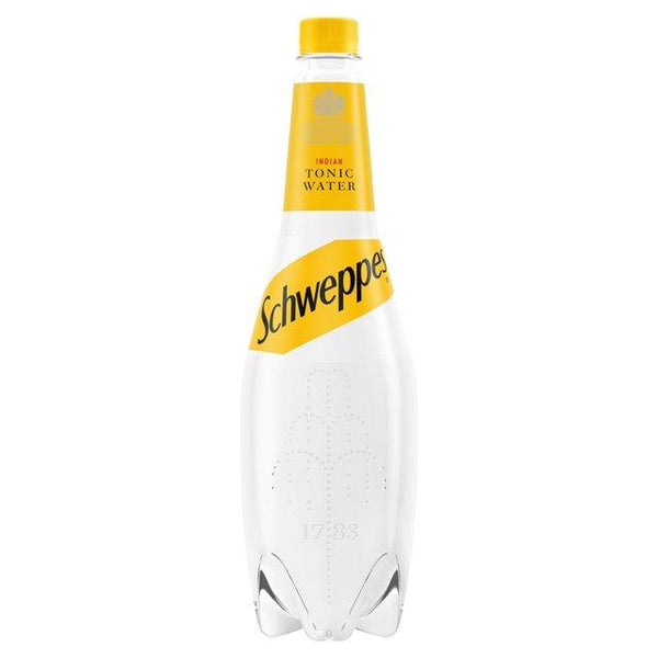 Grocemania Grocery Delivery London| Schweppes - Indian Tonic Water 1L
