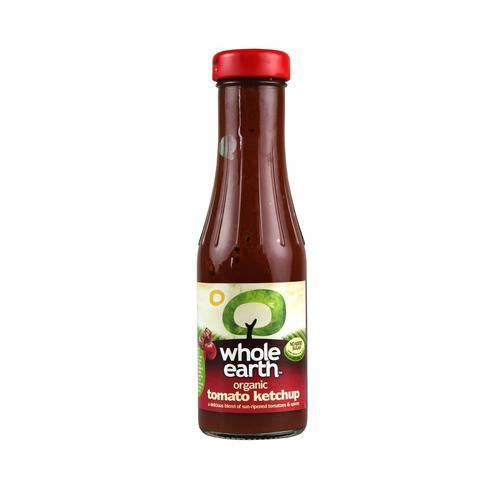 Grocery Delivery London - Whole Earth Organic Tomato Ketchup 340g same day delivery