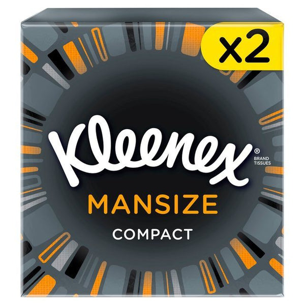 Grocemania Grocery Delivery London| Kleenex Mansize Compact 2x50 sheets