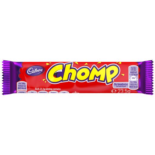 Grocemania Grocery Delivery London| Cadbury Chomp 23.5g